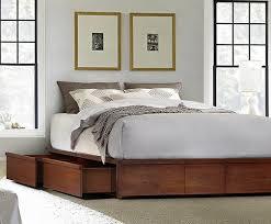 Outstanding Tribeca Grey Storage Queen Platform Bed Created For