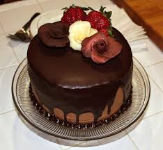 Cake · Happy Birthday Wishes For Friend With Chocolate Cake