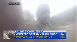 Very Close Call With A Flash Flood This Guy Is Lucky The Same Arizona That Claimed 9 Lives Last Weekend All From