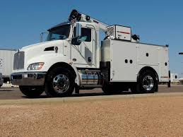 100 Service Truck With Crane For Sale 2018 Stellar TMAX Mountable Body Tolleson
