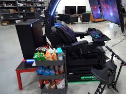 This £23,000 Set-up With A Gaming PC, PS4, Snacks And Zero-G ... Gt Throne Review Pcmag Best Gaming Chairs Of 2019 For All Budgets Gaming Chairs With Reviews For True Gamers Uk Top 7 Xbox One Gioteck Rc5 Pro Chair U Me And The Kids In 20 Ergonomics Comfort Durability Silla De Juegos Ultimate Bluetooth Gamer Ps4 Video X Rocker Fabric Audio Brazen Spirit 21 Pedestal Surround Sound Dual21dl Rocker Chair User Manual Ace Bayou Corp Models Period Picks