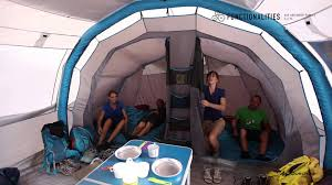 tente 4 places 2 chambres seconds family 4 2 xl quechua quechua air seconds family 5 2 xl functionalities