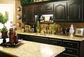 Rustic Kitchen Counter Decor Decoration Nightvaleco