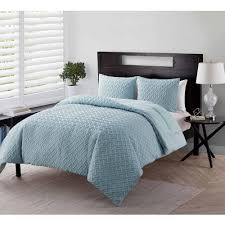 Bed Comforter Set by Discontinued Vcny Home Nina Geometric Embossed 2 3 Piece