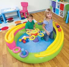 piscine a balle gonflable jouets gonflables jeu d enfant maison océan piscine à balles avec