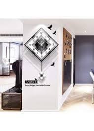 wanddeko wohnzimmer wanduhren für wohnzimmer modern mit