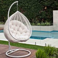 Hanging Bubble Chair Cheapest by Hanging Egg Chair Outdoor Rattan Wicker White I Want This Now