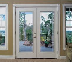 Masonite Patio Doors With Mini Blinds by French Patio Doors With Blinds Johnson Patios Design Ideas