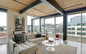 100 Seattle Penthouse South Lake Union With Lake Union View