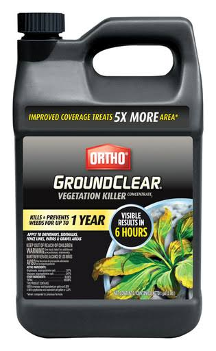 Ortho 0431604 GroundClear Vegetation Killer Concentrate Herbicide - 1 Gallon