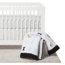 nojo crib bedding set 4pc xoxo target