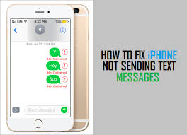 How to Fix iPhone Not Sending Text Messages