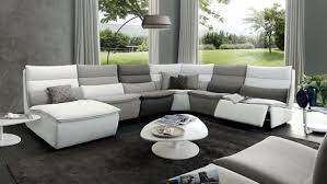 Chateau Dax Milan Leather Sofa by Home