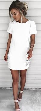 Shift And Shout Ivory Dress