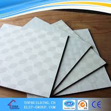 china pvc gypsum ceiling tile vinyl coated pvc gypsum ceiling