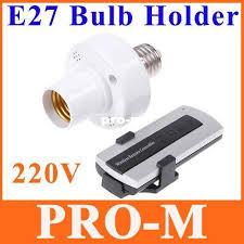 2018 e27 10m remote light l bulb holder cap e27