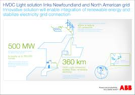 ABB awarded $400 million order for Maritime Link power project in