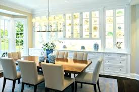 Dining Room Cabinets Built In China Cabinet Ideas With Silver Flush