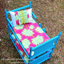 An Upcycled American Girl Doll Bed for My Girls