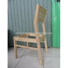 Wholesale Furniture Unfinished Wooden Chair Frame