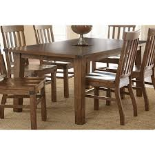 100 Dining Room Chairs With Oak Accents The Helena Dining Table Blends A Casual Industrial Style With Its