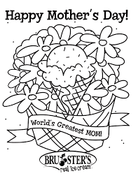 Happy Mother S Day Coloring Pages