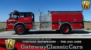 1989 Ford Low Tilt C8000 Fire Truck Gateway Classic Cars Chicago ...
