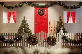 Easy Office Door Christmas Decorating Ideas by Simple Outdoor Christmas Decoration Lizardmedia Co