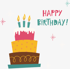 Vector Illustration Birthday Cake Birthday Cake Happy Birthday Cake PNG and Vector
