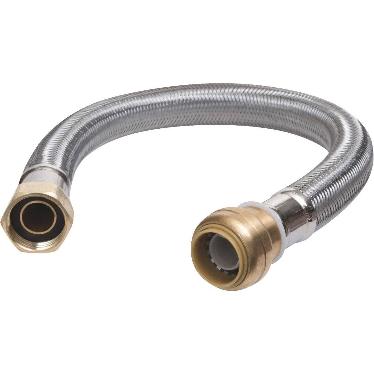 "SharkBite Flexible Water Heater Connectors - 3/4"" x 3/4"" x 24"""