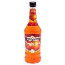 Leinenkugel Pumpkin Spice Beer by Hiram Walker Pumpkin Spice Liqueur 30 Proof 750ml Beer Wine And