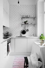 White Kitchen Ideas Pinterest by Best 25 Scandinavian Small Kitchens Ideas On Pinterest