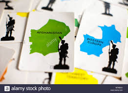 The Afghanistan Card In Classic Board Game Of Risk