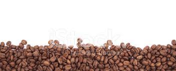 Coffee Bean Border Stock Photos
