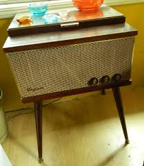 mid century modern 1960 s magnavox record player by orwadesigns