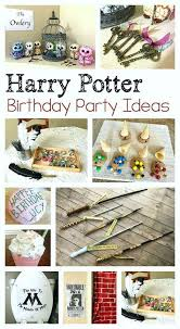 Harry Potter Birthday Party Ideas For Kids Cake Wands Decorations How