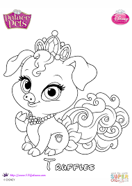 Click The Truffles Princess Coloring Pages To View Printable Version Or Color It Online Compatible With IPad And Android Tablets