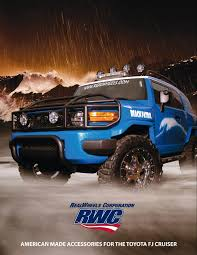 RealWheels Toyota FJ Cruiser Accessories Catalog