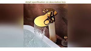 best buy dc wesley goldenes badezimmer kreativer wasserfall