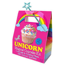 Unicorn Magical Cupcake Kit KitchenKapers