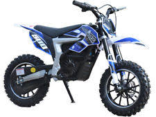 Item 4 NEW SUPER COOL MOTO TEC 24v 500W ELECTRIC BLUE DIRT BIKE MOTORCYCLE SCOOTER