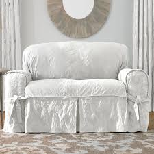 Camelback Sofa Slipcover Pattern by Decorating Shabby Chic Slipcovers Diy Chair Slipcover Diy
