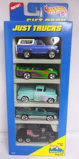 100 Just Trucks 1996 Hot Wheels 5 Gift PK Ford Bronco Flashsider