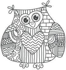 Coloring Pages Online For Adults Animals Hard Owl Page Printable Sheets Kids Get Latest Free Images
