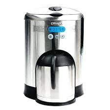 12 Cup Thermal Carafe Coffee Maker Stainless Steel Kitchenaid