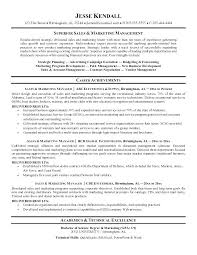 Advertising Sales Director Resume Sample Examples Manager And Marketing