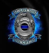 Valour Service Duty Fallen ficers T Shirt