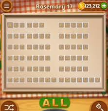 Word Cookies Rosemary 17 level 17 Answers AnswersKey