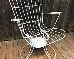 Vintage Banana Rocking Chair by Homecrest Etsy