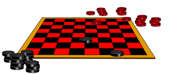 Game Clipart Checkerboard 1